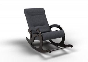 Кресло-качалка Тироль (оптом и в розницу) ткань графит
