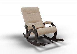 Кресло-качалка Тироль (оптом и в розницу) ткань песок