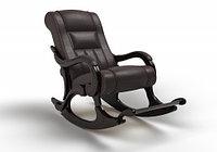 Кресло-качалка Родос (оптом и в розницу) экокожа венге
