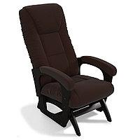 Кресло маятниковое Леон (цвет коричневый)