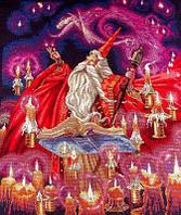 """Набор для вышивания крестом """"Scarlet Wizard (Красный волшебник)"""""""