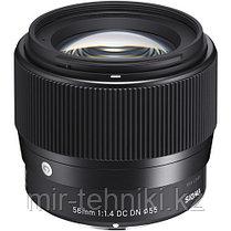 Объектив Sigma 56mm f/1.4 DC DN Contemporary для Canon EF-M