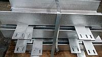 Уголки для модульного остекления. Покрытие Горячий цинк по ГОСТ 9.30-89