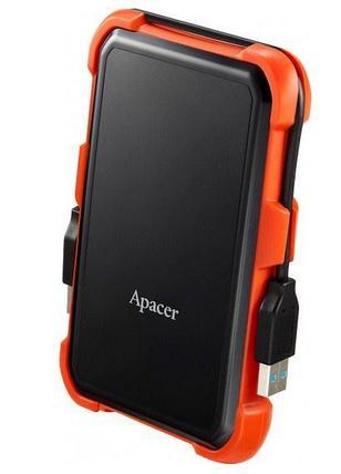 """Внешний жёсткий диск Apacer, AC630, AP1TBAC630T-1, 1TB, 2.5"""", USB 3.2, Оранжевый, фото 2"""