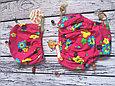 Многоразовые трусики подгузники для бассейна  цветы, фото 3