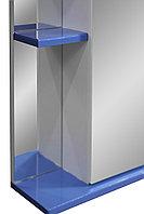 Шкаф зеркальный Колор 1 55С синий