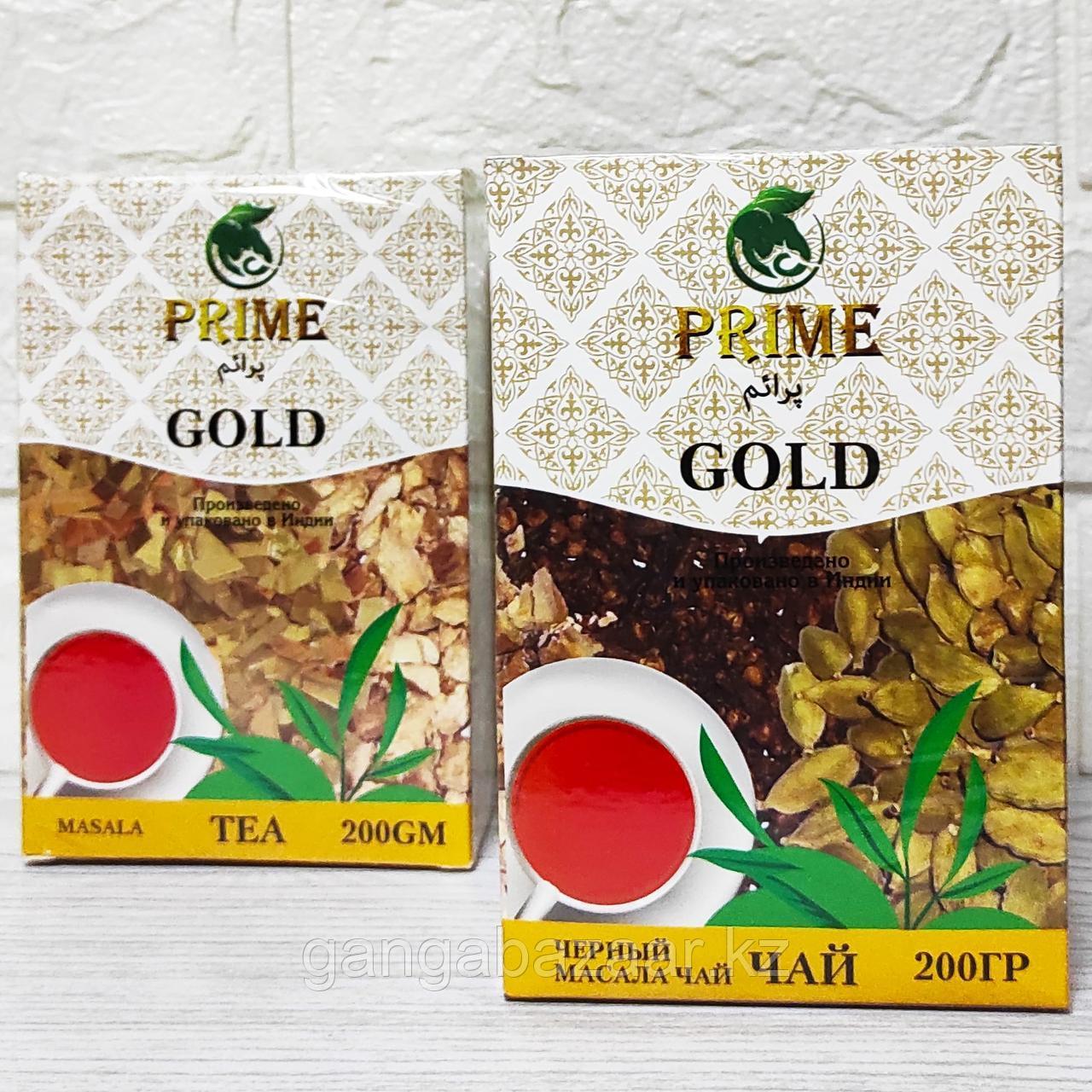 Масала чай Голд Прайм с имбирем, кардамоном, гвоздикой, 200 гр