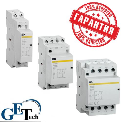 Контактор модульный КМ63-11М AC IEK  (КМ25-40М, КМ40-40М, КМ63-40М)