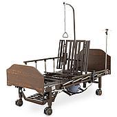 Кровать медицинская Med-Mos YG-3 (МЕ-5528Н-02) ЛДСП, венге