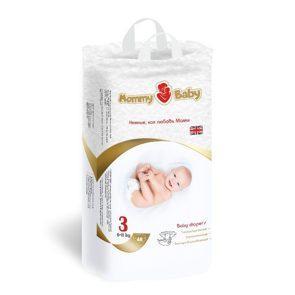 Подгузники Mommy Baby размер 3 (M) (6-11кг) 48 штук