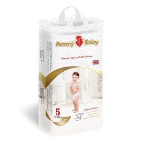 Подгузники Mommy Baby размер 5 (XL) (12-18кг) 40 штук