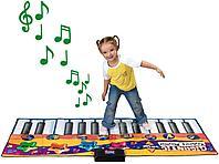 Gigantic keyboard playmat - напольный электронный коврик пианино