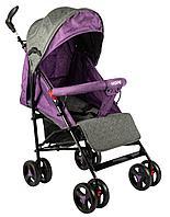 Коляска-трость Hope HP-308 dark purple/grey