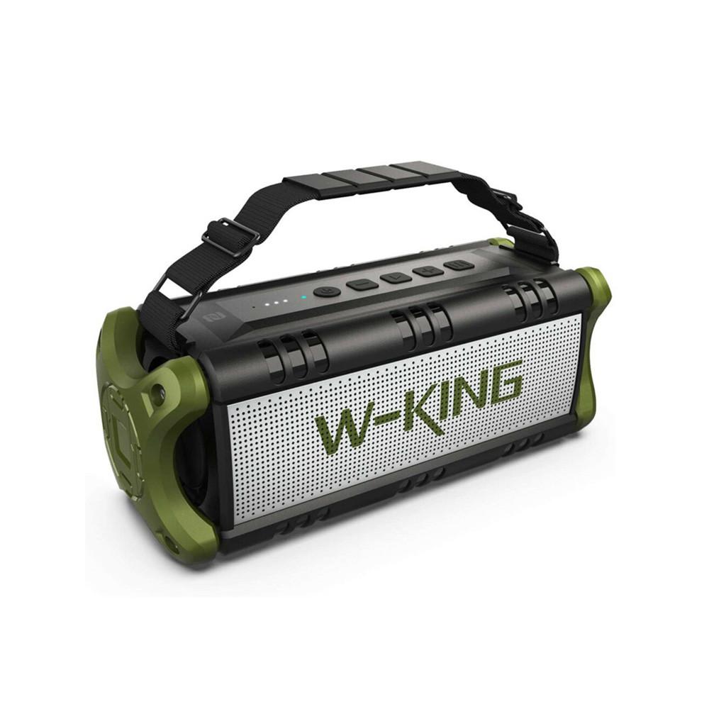 Портативная караоке-система Bluetooth W-King D8M, Black/Green