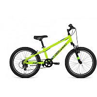 """Велосипед FORWARD UNIT 20 2.2 (20"""" 6 ск. рост 10.5"""") 2020-2021, ярко-зеленый/черный, RBKW11N06002"""