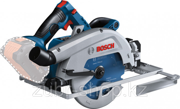 Аккумуляторная циркулярная пила Bosch Professional GKS 18V-68 GC (06016B5100)