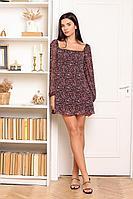 Женское летнее шифоновое большого размера платье AURA of the day 3020.164 40р.