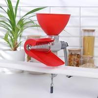 Соковыжималка чугунная, 30x13x27 см, цвет красный