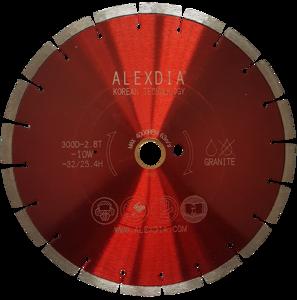 Сегментный диск по граниту (laser) красный 450 мм 450D-40L-3.2T-10W-28S-25.4H