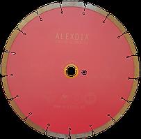 """Сегментный диск по граниту (sinered) розовый """"спеченый"""" 105 мм 105D-1.6T-7W-22.23/20H"""