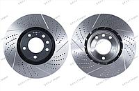 Тормозные диски Gerat DSK-F003 (ПЕРЕДНИЕ) VW Touareg 2010- , Porsche Cayenne 958