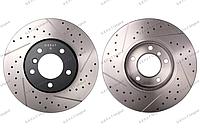 Тормозные диски Gerat DSK-F004 (ПЕРЕДНИЕ) BMW E90, E81, F22, E84, F30, F20