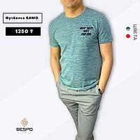 Качественная футболка от яркого бренда Samo