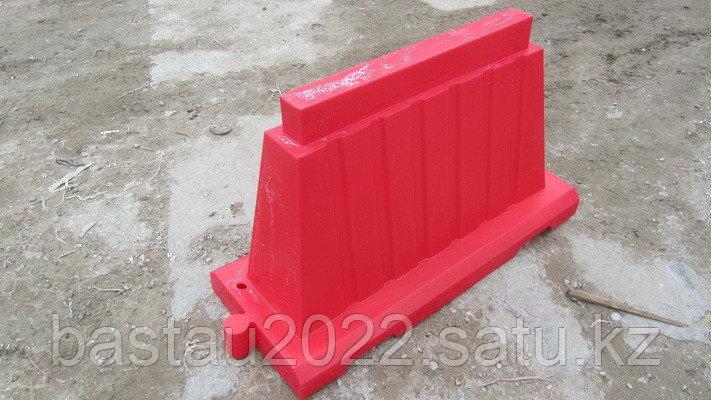 Вкладывающийся дорожный пластиковый барьер (водоналивной блок) 1.5м