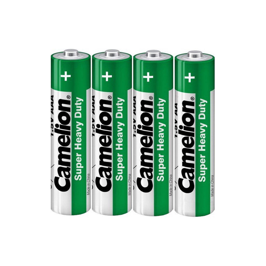 Батарейка, CAMELION, R03P-SP4G, Солевая,Super Heavy Duty, AAA, 1.5V, 4 шт., Плёнка