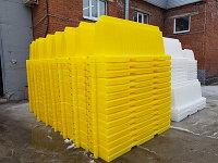 Вкладывающийся дорожный пластиковый барьер (водоналивной блок) 2м, фото 1