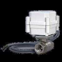 Кран шаровой с электроприводом 1/2 GIDROLOCK ULTIMATE BUGATTI 12V DC
