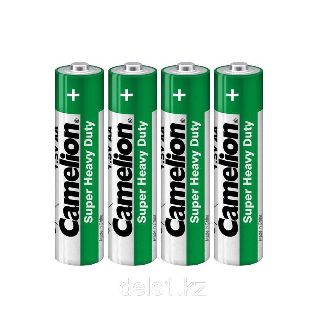 Батарейка, CAMELION, R6P-SP4G, Super Heavy Duty, AA, 1.5V, 4 шт., Плёнка