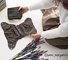 Organic многоразовый подгузник от Umm Maryam, фото 4