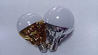 Лампа Led ,серебро-золото ,10W,E27