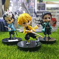 Маленькие статуэтки по аниме Клинок рассекающий демонов, фото 2