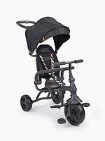 Детский трехколесный велосипед Happy Baby Mercury black