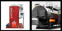 Паровой котел на газообразном топливе Art Boilers ПГГ 3, в комплекте с горелочным устройством