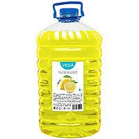 """Мыло жидкое Vega """"Лимон"""", ПЭТ, 5л"""