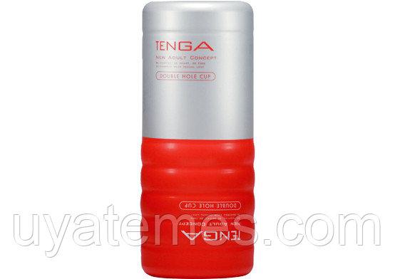 Мастурбатор Tenga - Double Hole CUP