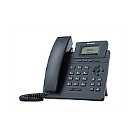 IP телефон Yealink SIP-T30P , SIP-телефон, 1 линия, Poe c БП замена T19P