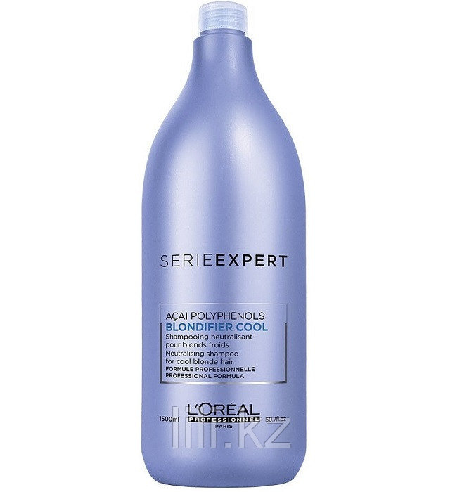 Шампунь для нейтрализации желтизны волос L'Oreal Professionnel Еxpert Blondifier Cool Shampoo 1500 мл.