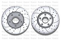 Тормозные диски Gerat DSK-F045W (ПЕРЕДНИЕ) Toyota Camry 10, 15, 20, 25, 30, 35, Avalon 10, 20, Windom 10, 20