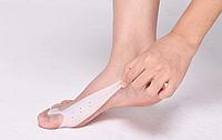 Мягкий силиконовый фиксатор «Вальгус Плюс» для большого пальца ноги