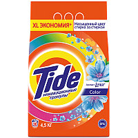 """Порошок для машинной стирки Tide """"Color """"Lenor Эффект"""", 4,5кг"""