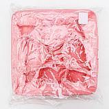 Корзина для хранения с ручками «Мишка», 9 ячеек, 28×28×11 см, цвет розовый, фото 5