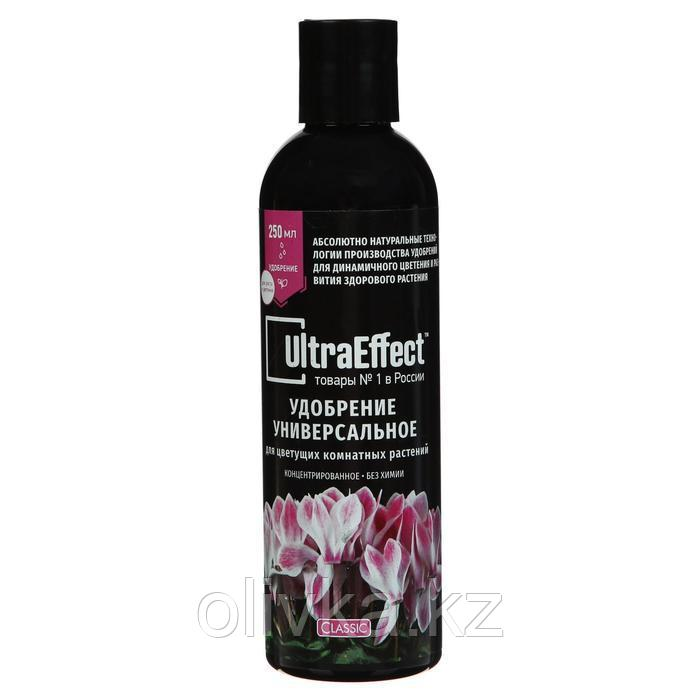 Удобрение жидкое для цветущих комнатных растений UltraEffect Classic, 250 мл