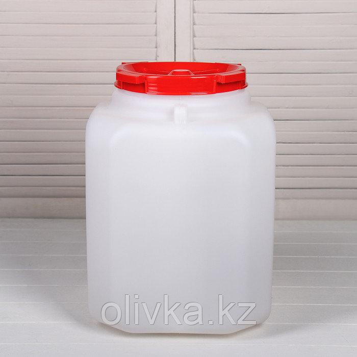 Бочка пищевая, 40 л, горловина 21.5 см, с крышкой