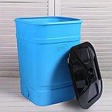 Бочка-бак пищевая, 300 л, с крышкой, цвет МИКС, фото 2