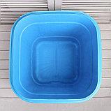 Бочка-бак пищевая, 300 л, с крышкой, цвет МИКС, фото 4
