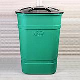 Бочка-бак пищевая, 300 л, с крышкой, цвет МИКС, фото 9